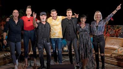 Die Teilnehmerinnen und Teilnehmer der ersten Staffel von «Sing meinen Song» auf TV24. (Andrea Camen/TV24)