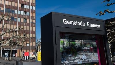 Die Errichtung des Provisoriums bei der Schulanlage Erlen hatte Einfluss auf die negativ ausfallende Jahresrechnung 2019 der Gemeinde Emmen. (Eveline Beerkircher,Emmenbrücke,24. April 2019)