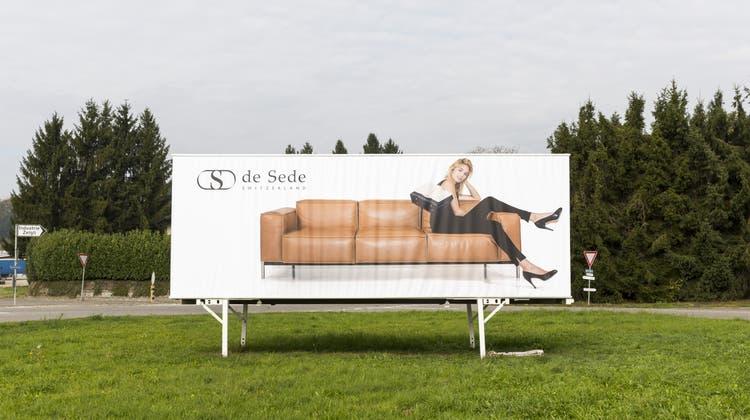 Der Möbelhersteller de Sede beliefert aus dem Zurzibiet die ganze Welt. (SEVERIN BIGLER)