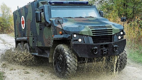 Mowag sichert sich Millionenauftrag von der deutschen Bundeswehr