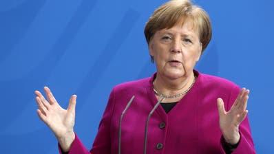 Lässt die Grenzen vorerst geschlossen: Bundeskanzlerin Angela Merkel. (Adam Berry / Pool / EPA)