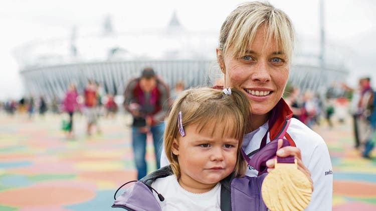 Edith Wolf-Hunkeler blickt auf ihr Karrieren-Highlight zurück – es war eine Goldmedaille für das Familienprojekt