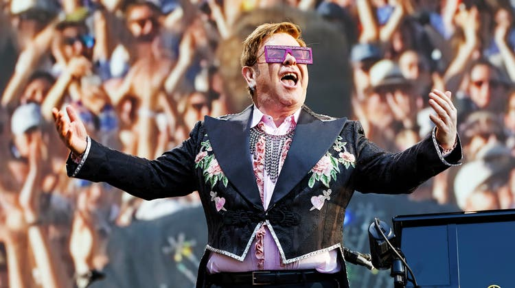 Findet dieses Jahr nicht statt: Das Montreux Jazz Festival – letztes Jahr unter anderem besucht von Elton John auf seiner Abschiedstour. (Andre Albrecht)