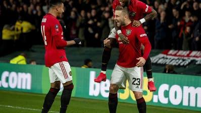 Die Sehnsucht nach solchen Bildern ist wieder da. Ich will meinen Lieblingsklub Manchester United wieder jubeln sehen. Oder einfach irgendwelchen Fussball schauen können. (Keystone)