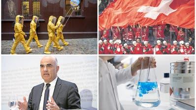 Coronavirus in der Schweiz: die Chronologie der Ereignisse
