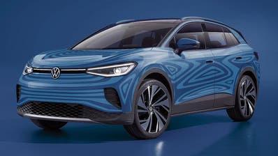 Den elektrischen Crossover I.D.4 will VW spätestens Anfang 2021 auf die Strasse bringen. (Bild: VW)