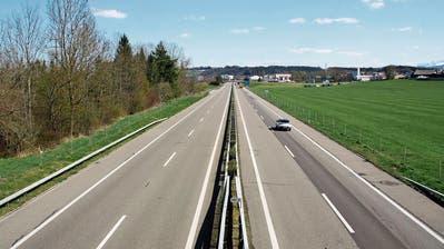 Keine Staus, weniger Drängler: Die Autobahn A1 zwischen Matzingen und St.Gallen ist so leer wie lange nicht mehr