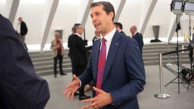 Insgesamt hat SVP-Regierungskandidat Michael Götte am Wochenende wenn auch nicht die Wahl, so doch immerhin einen Achtungserfolg hingelegt. In der Stadt St.Gallen allerdings hat er schlecht abgeschnitten - wie vor ihm schon andere SVP-Kandidaten in Regierungs- und Stadtratswahlen. (Bild: Ralph Ribi (19.4.2020))
