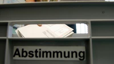 Stimmen die Niederbürer ab, so vertreten sie oft rechts-konservative Haltungen. (Bild: Christoph Imseng)