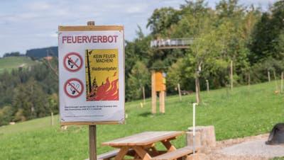 Für den Kanton Uri gilt ab sofort ein Feuerverbot (Bild: Hanspeter Schiess)
