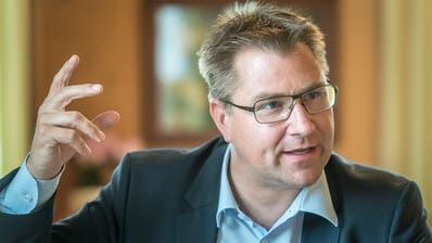 Toni Brunner: «Zum Glück haben wir Reserven, sonst würden wir diese Krise nicht überleben.» (Bild: Michel Canonica)