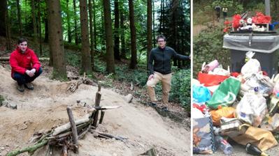 Luzerner Wald wird unter Corona zum Tummelfeld für Biker und Brätler– 10 Tipps für einen perfekten Waldbesuch