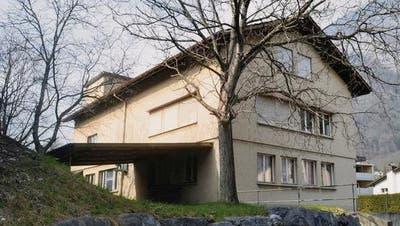DasMehrzweckgebäude in Heiligkreuz. (Bild: Heinz Gmür)
