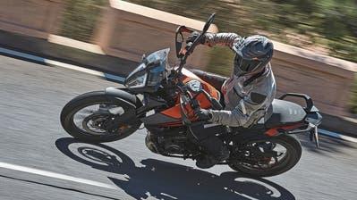 Endlich ein Motorrad für Normalgrosse: Die KTM 390 Adventure ist der perfekte Allrounder