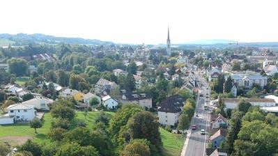Amriswil hat viele Grünflächen. ((Bild: Manuel Nagel))