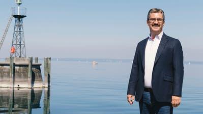 «Und wenn ich die Strasse persönlich sperren muss»: Stadtpräsident Röbi Raths will an Wochenenden weniger Auto-Geprotze in Rorschach