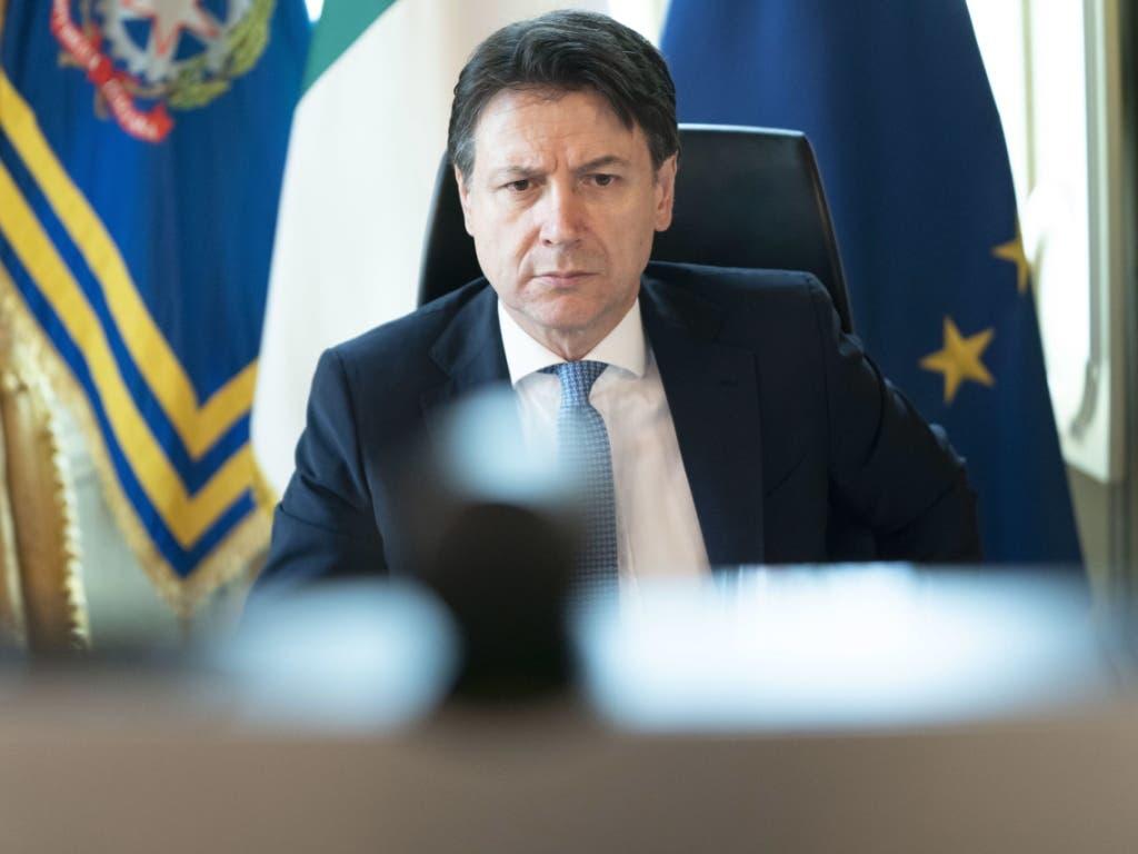 Ministerpräsident Giuseppe Conte kündigte am Sonntag die Lockerungen für die Bevölkerung an.