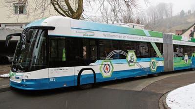 Batterietrolleybussefür St.Gallen verspäten sich – auch die Infrastruktur hinkt zeitlich hinterher