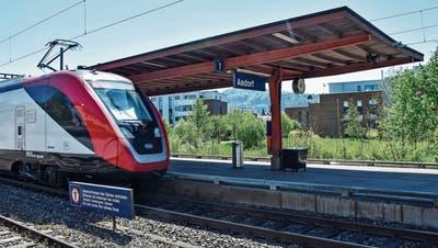 Der Aadorfer Bahnhof soll bis Ende Jahr barrierefrei werden