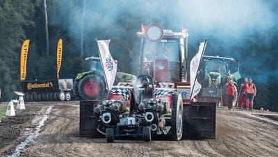 Das Tractor Pulling in Knutwil steht aus ökologischen Gründen vor dem Aus