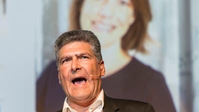 Boris Tschirky kandidierte 2017 für die CVP für den Stadtrat. Er unterlag der Grünliberalen Sonia Lüthi im zweiten Wahlgang. (Hanspeter Schiess)
