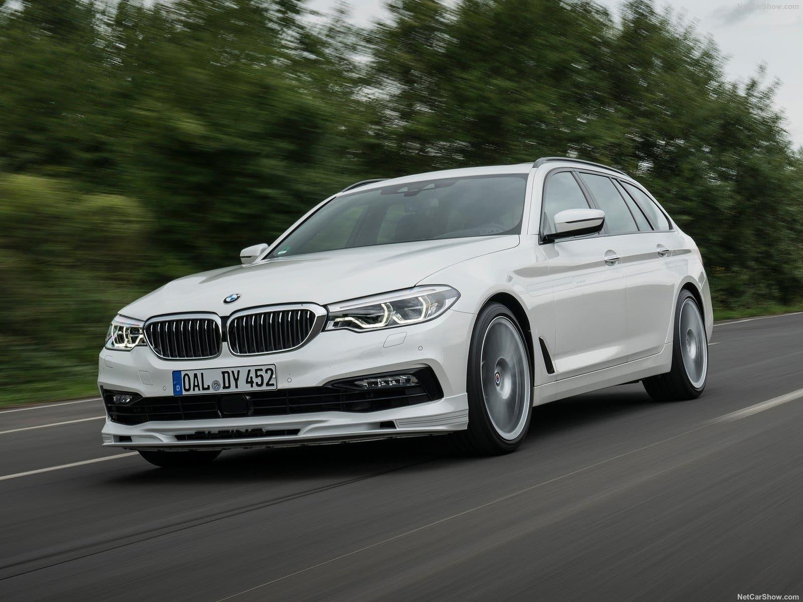 Klassisch: Leicht überarbeitete Frontstossstange und filigrane Speichenräder. Der Unterschied zur Basis von BMW liegt im Detail.