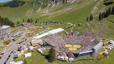 Im vergangenen Jahr besuchten 13250 Personen das Schwingfest auf der Schwägalp. (Bild: Urs Bucher (11. August 2019))