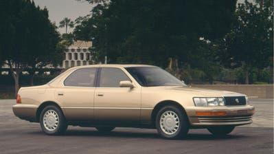 Der Ursprung: Lexus LS400 (1989). (zvg)