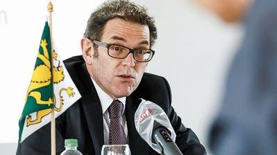 Thurgauer Gesundheitsdirektor und Regierungspräsident Jakob Stark (SVP). ((Bilder: Donato Caspari))