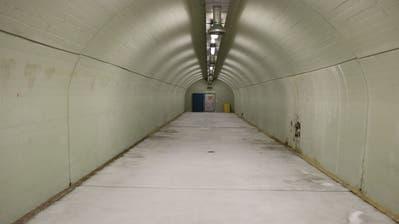 So sieht es im Innern des Warteggstollens aus. (Bilder: PD/EWL)