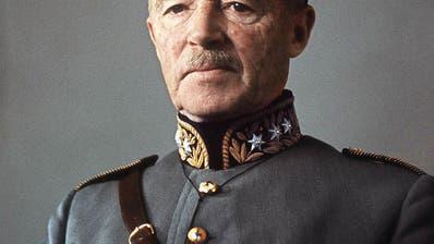 General Henri Guisan (1874-1960) war im und nach dem Zweiten Weltkrieg ein Schweizer Nationalheld. (Screenshot)