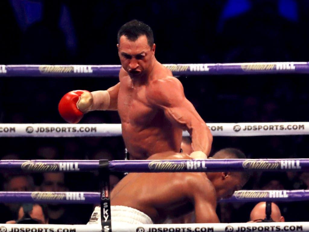 In Runde 6 schlägt Klitschko zurück