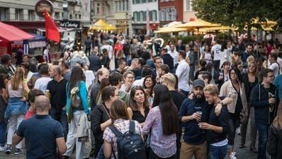 Bis zu 15'000 Zuschauer besuchten in den vergangenen Jahren den Schwägalp-Schwinget. In diesem Jahr fällt das Fest aus. (Bild: Urs Bucher)