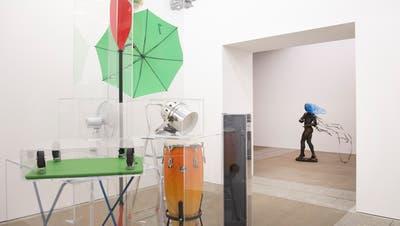 Die Ausstellung «Metamorphosis Overdrive» im Kunstmuseum St.Gallen musste kurz nach Eröffnung wegen Corona schliessen. (Bild: Urs Bucher)