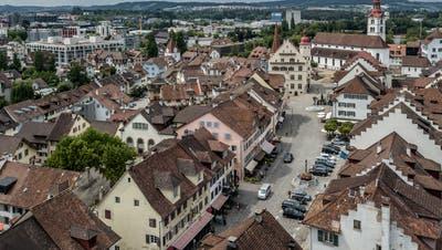 Im Sommer am Wochenende autofrei: Altstadt in Sursee. (Bild: Pius Amrein (22. Juli 2019))