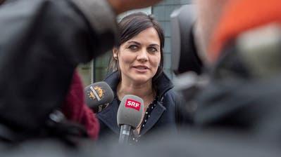 Sie möchte nicht mehr im medialen Interesse stehen: die ehemalige Zuger Kantonsrätin Jolanda Spiess-Hegglin. (Urs Flüeler/Keystone (Zug, 10. April 2019))
