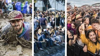 Kein Schlamm, kein Relaxen am See und kein Abfeiern zu Hiphop: Das Aus für das Open Air St.Gallen, das Arboner Summerdays und das Open Air Frauenfeld ist Tatsache. (Bild: Hanspeter Schiess)