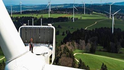 Mehr Geld für erneuerbare Energie: Um die Klimaziele zu erreichen, will der Bundesrat die Wasser- und Windkraft stärker fördern