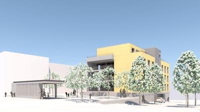 So soll der Neubau an der Rieslingstrasseaussehen. ((Bild: PD))