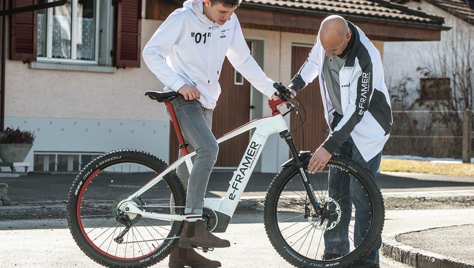Viel Schweizer e-Bike, noch mehr Service.