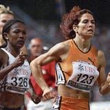Als die Leichtathletin Anita Brägger 2001 durch die «Schallmauer» lief