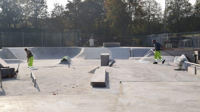 Der Skatepark Bergholz wird vorübergehend abgesperrt. (Bild: Gianni Amstutz)
