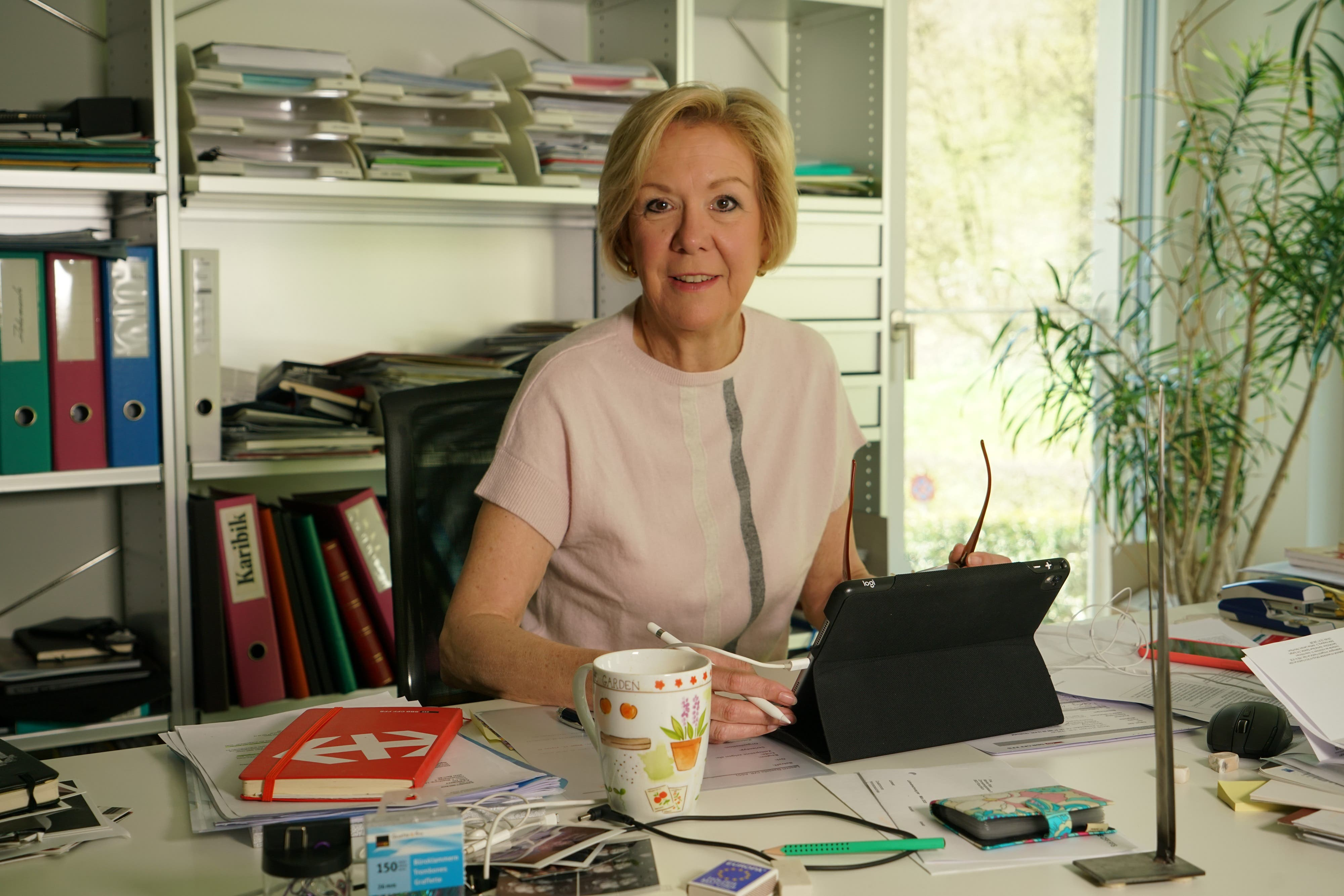 Monika Ribar, 60, Verwaltungsratspräsidentin SBB: «Es ist wichtig, dass man auch zu Hause einen Tagesplan hat.»
