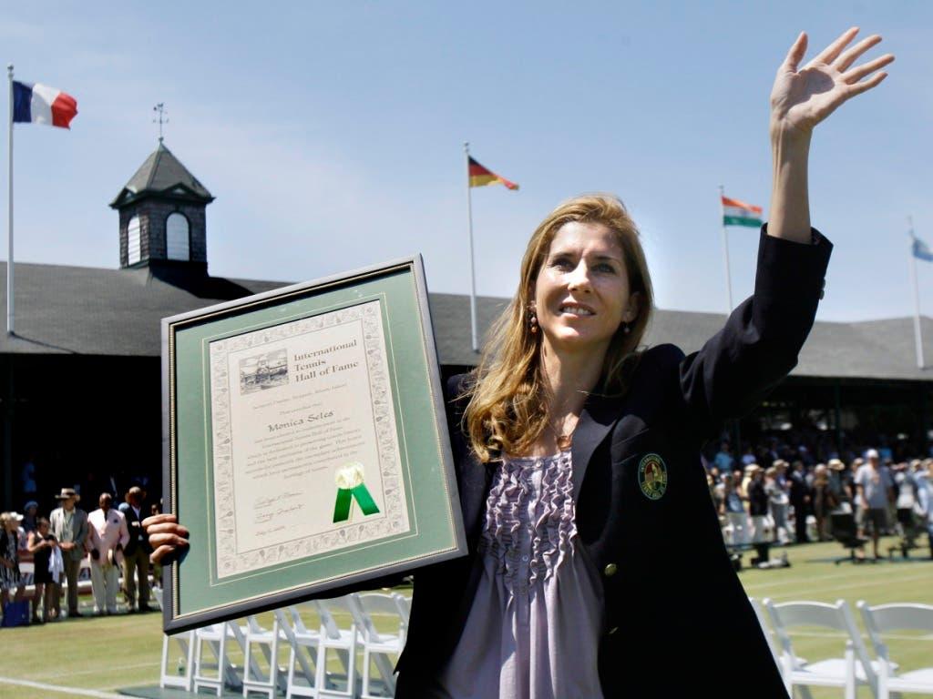 2009 wurde Monica Seles in die «Tennis Hall of Fame» aufgenommen