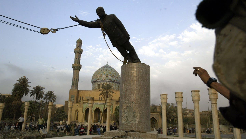 2003 wurde der irakische Diktator Saddam Hussein gestürzt. Doch für Abbas Khider blieb der Albtraum. (Bild: Jerome Delay/AP Photo/Keystone)