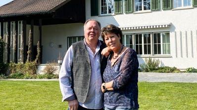 Helene und Erich Berger freuen sich darauf, die ersten Gäste in der Villa Sutter begrüssen zu dürfen. (Bild: PD)