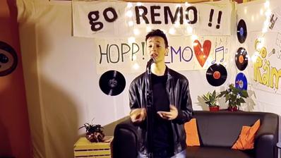Remo Forrer bei seinem ersten Auftritt bei «The Voice of Switzerland». (PD)