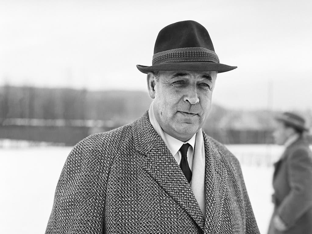 Karl Rappan: Im Zeitraum von 1937 bis 1963 viermal Trainer der Schweizer Nationalmannschaft.