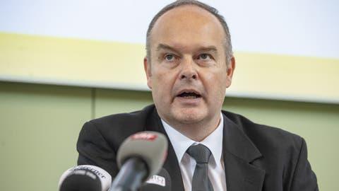 Kantonsarzt Roger Harstall. (Bild: Urs Flüeler/Keystone, Luzern, 5. März 2020)