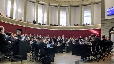 Wann wird im Luzerner Kantonsratssaal wieder debattiert? (Bild: Nadia Schärli (18.02.2019))